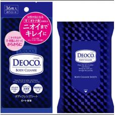 DEOCO ® Body Cleanse Sheets Очищающие салфетки для тела для женщин, 36 шт.