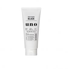 UNO для мужчин, Черная пенка для умывания с древесным углем, для нормальной и жирной кожи, 130г