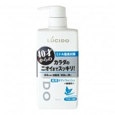 LUCIDO моющий деодорирующий гель для тела с лекарственными компонентами, для мужчин от 40 лет, 450 мл