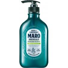 MARO Deo scalp Лечебный шампунь для мужчин от перхоти зуда и запаха 480 мл