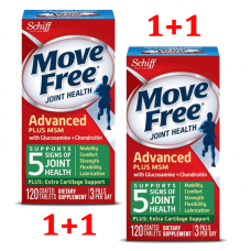 Schiff, Move Free Joint Health, Glucosamine Chondroitin Plus MSM, 120x2 Coated Tablets