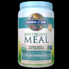 Garden of Life RAW Meal Сырая Органическая Еда, Натуральный Заменитель пищи или шейков, слегка сладкий, 1038 г (36.6 oz), подходит для веганов