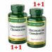 Nature's Bounty, глюкозамин хондроитин, 220 капсул