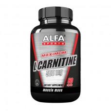 ALFA Максимум L-карнитин - 100 капсул