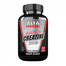 ALFA Максимум креатина 1200 мг - Рост мышц - 100 капсул