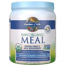 Garden of Life RAW Meal Сырая Органическая Еда, Натуральный Заменитель Приема Пищи или  шейк с ванильным вкусом, 484 г (17.1 oz)