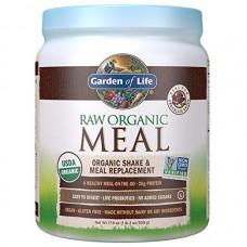 Garden of Life RAW Meal Сырая Органическая Еда, Натуральный Заменитель Приема Пищи или шейк со вкусом Шоколад Какао, 509 г (17.9 oz)