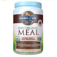 Garden of Life RAW Meal Сырая Органическая Еда, Натуральный Заменитель Приема Пищи или шейк со вкусом Шоколад Какао, 1017 г (35.9 oz)