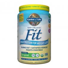 Garden of Life Сырой органический протеиновый порошок, оригинальный, 28 г белка, контроль веса, 854 г (30,1 унция), подходит для веганов