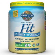 Garden of Life Сырой органический протеиновый порошок, оригинальный, 28 г белка, контроль веса, 427 г (15,1 унция), подходит для веганов