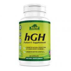 ALFA Vitamins hGH  Альфа Витаминс Гормон Роста – 60 капсул