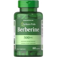 Puritan's Pride Berberine 500 mg, 60 Softgels