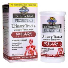 Garden of Life Dr. Formulated Серия «Составлено врачом» пробиотики Urinary Tract + для поддержания здоровья мочевыводящих путей для женщин, 60 капсул (вегетарианские)