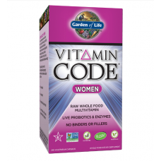 Garden of Life Vitamin Code Women's Multi, 240 vegetarian Capsules
