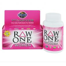 Garden of Life Vitamin Code Raw One for Women,  Витаминный Код для женщин, 75 вегетарианские капсулы
