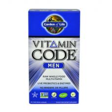 Garden of Life Vitamin Code Витаминный Код мультивитамины для мужчин, 240 вегетарианских капсул