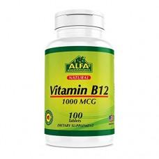 ALFA Витамин В-12 1000mcg -100 таблеток