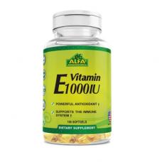 ALFA Витамин Е 1000 МЕ - 100 мягких капсул