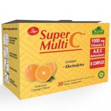 ALFA Super Multi C Порошковая формула - витамин C 1000 мг - 30 пакетов
