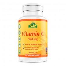 ALFA Витамин C 500 мг – 100 таблеток
