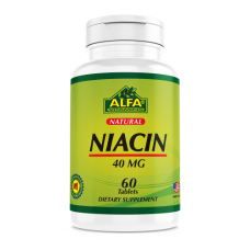 ALFA Ниацин  (B 3) 40 мг - 60 таблеток