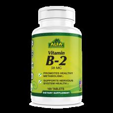 ALFA Витамин В-2 -100 таблеток