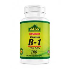 ALFA Витамин В1 -100 таблеток