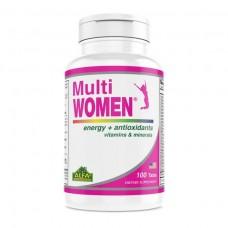 ALFA Мульти витамины для женщин-100 таблеток