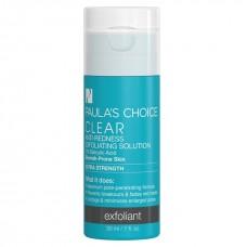 Paula's Choice CLEAR Exfoliant/ ОЧИЩЕНИЕ Отшелушивающий эксфолиант сильного воздействия, от покраснений, с 2% салициловой кислотой, 1 жид. унций / 30 мл ( маленькая упаковка)