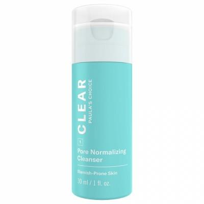 Paula's Choice CLEAR PORE NORMALIZING CLEANSER  / ОЧИЩЕНИЕ, Очищающий гель для лица, нормализующий поры, 30 мл (маленькая упаковка)