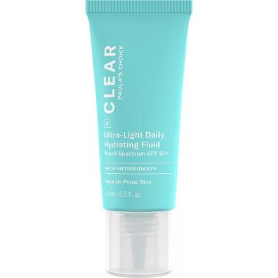 Paula's Choice CLEAR ULTRA-LIGHT DAILY HYDRATING FLUID / ОЧИЩЕНИЕ, Ультра легкое увлажняющая жидкость для ежедневного использования, 15 мл (маленькая упаковка)