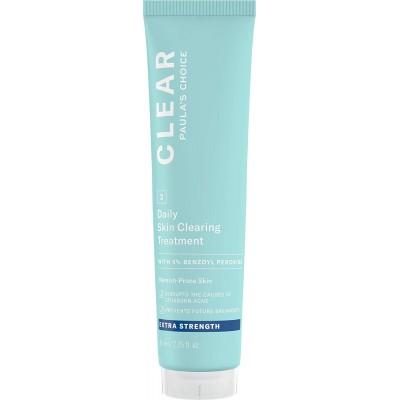 Paula's Choice CLEAR EXTRA STRENGTH DAILY SKIN CLEARING TREATMENT WITH 5% BENZOYL PEROXIDE/ ОЧИЩЕНИЕ, Лосьон для ежедневной очистки кожи с 5%  бензоил пероксидом, экстра сильного воздействия, 67 мл