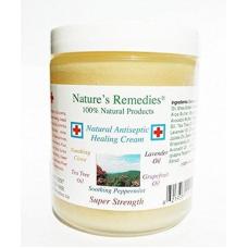 Natures Remedies 100% Natural Antiseptic Healing Cream, 4 oz (120 g)