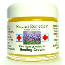 Natures Remedies 100% Natural Antiseptic Healing Cream, 2 oz (60 g)