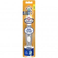 Arm & Hammer Зубная щетка на батарейках Spinbrush, серия Про Клин (Pro  Clean Series) Ежедневная чистота, мягкая щетина