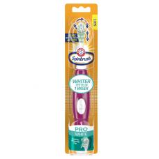 Arm & Hammer Зубная щетка на батарейках Spinbrush, серия Про Вайт (Pro White Series) Ежедневная чистота, мягкая щетина  (разных цветов)
