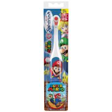 Arm & Hammer мягкая зубная щетка на батарейках Spinbrush, для детей , Марио, персонаж может меняться
