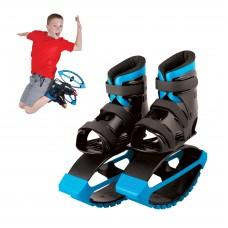 MADD GEAR - BOOST BOOTS – Детские ботинки для прыжков Черные с синим