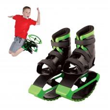 MADD GEAR - BOOST BOOTS – Детские ботинки для прыжков Черные с зеленым