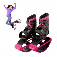 MADD GEAR - BOOST BOOTS – Детские ботинки для прыжков Черные с розовым