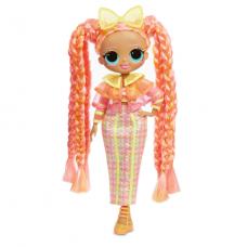 ЛОЛ. Сюрприз!  Светящаяся в темноте O.M.G Модная кукла Dazzle (Даззл) с 15-ю сюрпризами