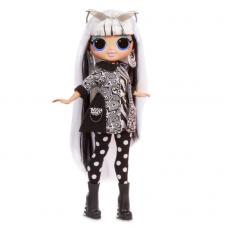 ЛОЛ. Сюрприз!  Светящаяся в темноте O.M.G Модная кукла Groovy Babe (Груви Бэйб) с 15-ю сюрпризами