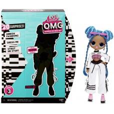 L.O.L. Surprise! ЛОЛ. Сюрприз!  O.M.G.  Модная кукла Чиллакс (Chillax), 3-я серия с 20 сюрпризами