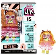 L.O.L. Surprise! ЛОЛ. Сюрприз!  Модная мини-кукла JK Neon Q.T. ( Нион Кю Ти)