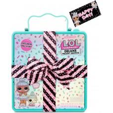 L.O.L. Surprise! ЛОЛ. Сюрприз!  Делюкс-подарок-сюрприз с куклой и домашним питомцем из лимитированной серии
