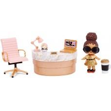 L.O.L. Surprise! ЛОЛ. Сюрприз! Мебель для школьного офиса с  Бос Куин  (Boss Queen) и 10+ сюрпризами
