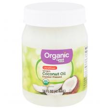 Great Value Organic Unrefined Virgin Coconut Oil, Органическое Неочищенное Кокосовое Масло первого отжима, 414 мл ( 14 fl oz )