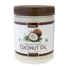 Tropical Plantation Органическое нерафинированное натуральное кокосовое масло, 1,06 л ( 36 жид. унций )
