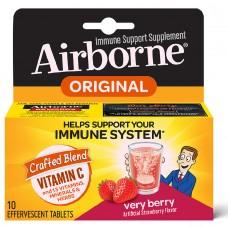 AirBorne, Шипучие таблетки с ягодным вкусом, 10 таблеток