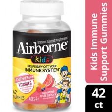 AirBorn жевательные конфеты для детей с витамином С, ассорти из фруктов - 42 жевательные конфеты